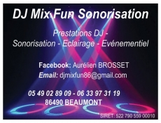 DJ Mix Fun Sonorisation